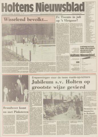 Holtens Nieuwsblad 1986-05-15