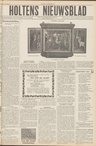 Holtens Nieuwsblad 1952-12-23
