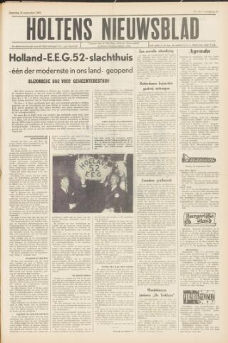 Holtens Nieuwsblad 1965-09-25