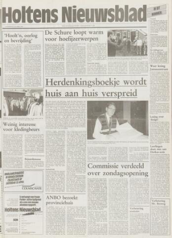 Holtens Nieuwsblad 1995-04-20