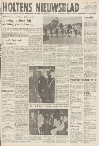 Holtens Nieuwsblad 1974-09-27