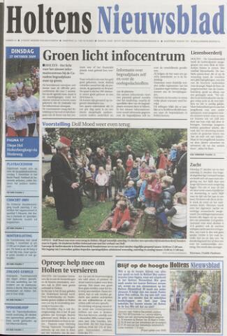 Holtens Nieuwsblad 2009-10-27