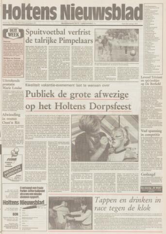 Holtens Nieuwsblad 1991-08-01