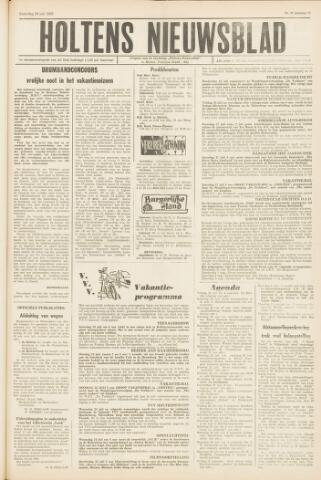 Holtens Nieuwsblad 1963-07-20