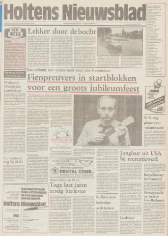 Holtens Nieuwsblad 1991-07-04