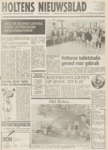 Holtens Nieuwsblad 1982-09-16