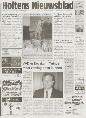Holtens Nieuwsblad 2001-05-17