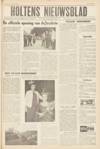 Holtens Nieuwsblad 1963-08-10