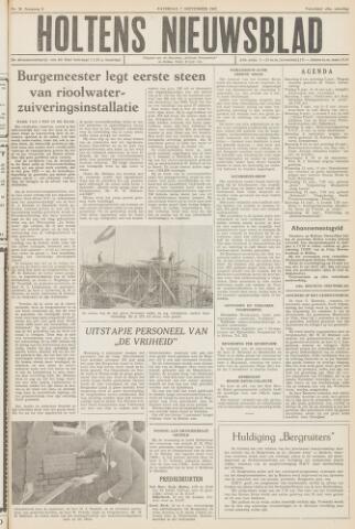 Holtens Nieuwsblad 1957-09-07