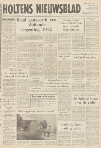 Holtens Nieuwsblad 1972-01-21