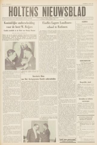 Holtens Nieuwsblad 1961-05-06