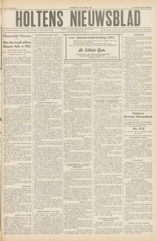 Holtens Nieuwsblad 1954-04-10