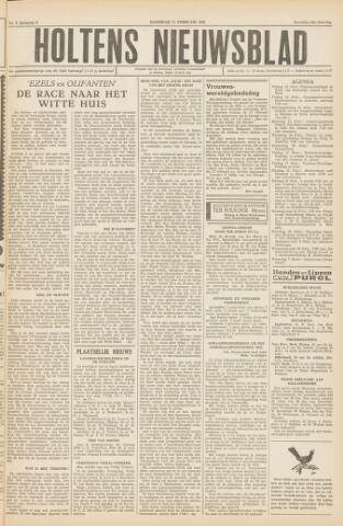 Holtens Nieuwsblad 1956-02-11