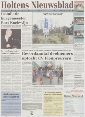Holtens Nieuwsblad 2004-02-12