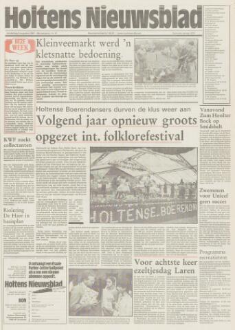 Holtens Nieuwsblad 1987-08-06