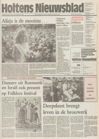 Holtens Nieuwsblad 1984-07-19
