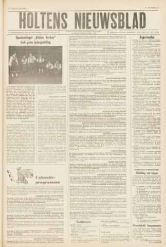 Holtens Nieuwsblad 1963-07-27