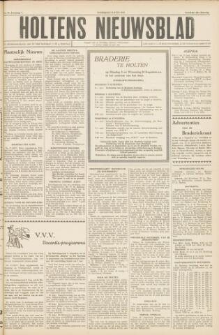 Holtens Nieuwsblad 1955-07-30
