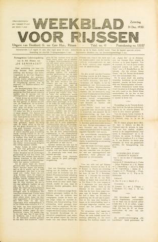 Weekblad voor Rijssen 1938-12-31