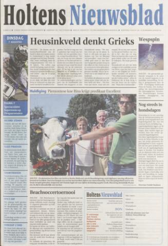 Holtens Nieuwsblad 2007-08-07