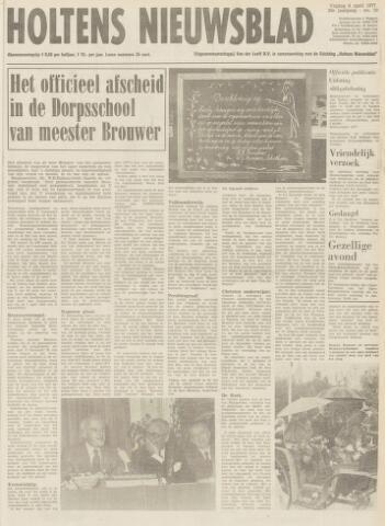 Holtens Nieuwsblad 1977-04-08