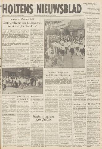 Holtens Nieuwsblad 1972-09-01