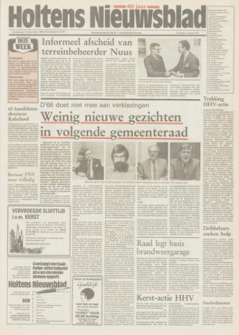 Holtens Nieuwsblad 1989-12-14