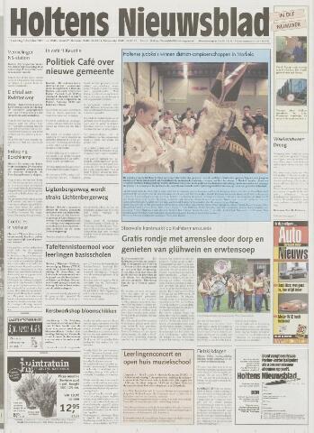Holtens Nieuwsblad 2001-12-06