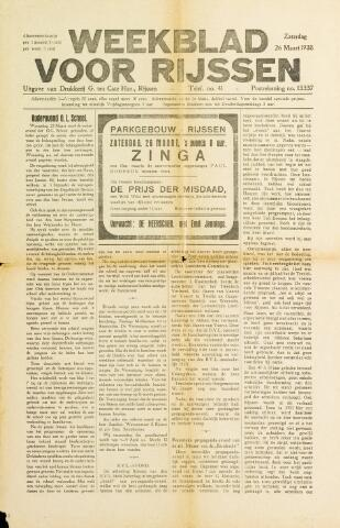 Weekblad voor Rijssen 1938-03-26