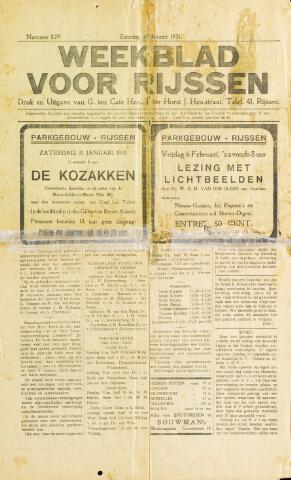 Weekblad voor Rijssen 1931-01-31