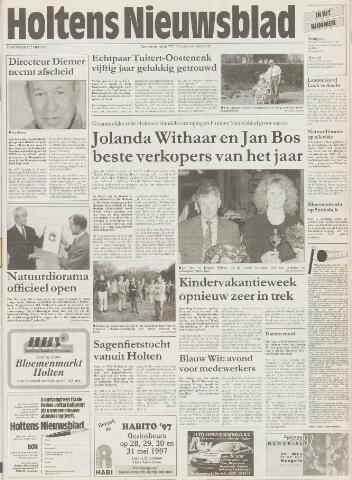 Holtens Nieuwsblad 1997-05-22