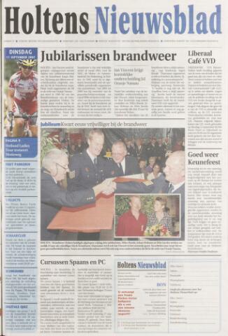 Holtens Nieuwsblad 2007-09-11