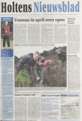 Holtens Nieuwsblad 2009-03-03