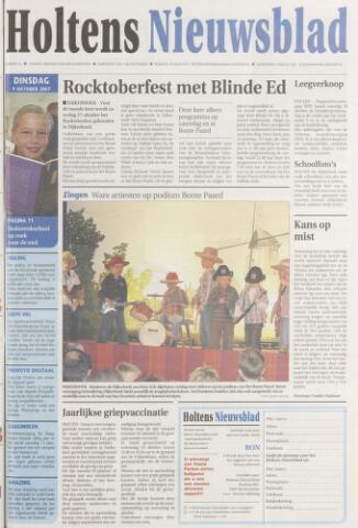 Holtens Nieuwsblad 2007-10-09