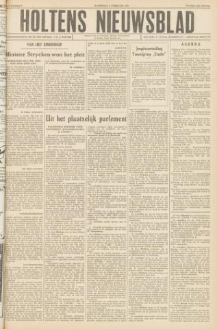 Holtens Nieuwsblad 1957-02-09