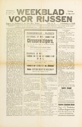 Weekblad voor Rijssen 1939-05-27