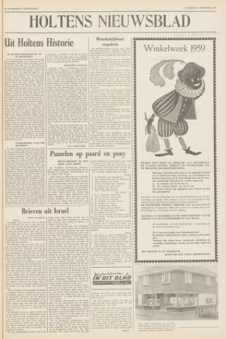 Holtens Nieuwsblad 1959-12-05