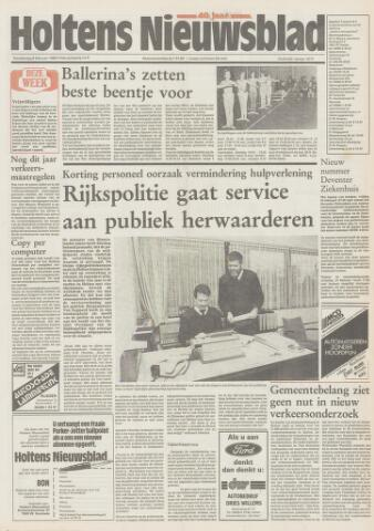 Holtens Nieuwsblad 1989-02-09