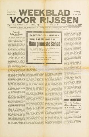 Weekblad voor Rijssen 1938-07-09