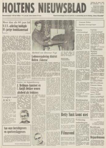 Holtens Nieuwsblad 1977-04-22