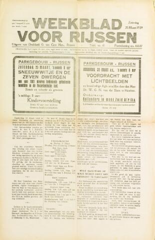 Weekblad voor Rijssen 1939-03-25