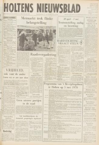 Holtens Nieuwsblad 1970-04-24