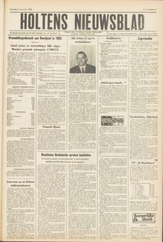 Holtens Nieuwsblad 1964-09-05