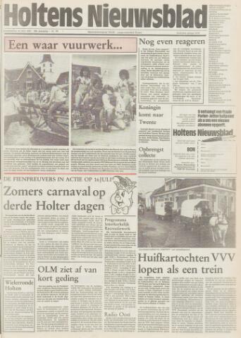 Holtens Nieuwsblad 1985-07-11