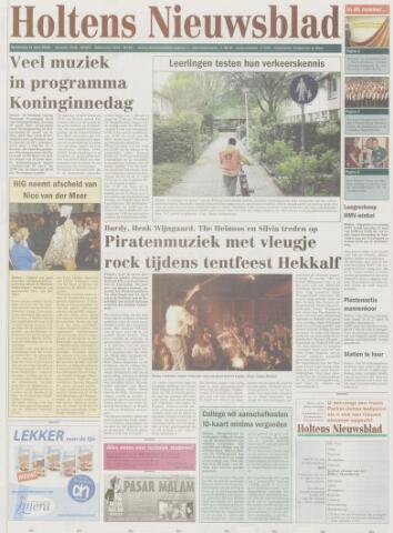 Holtens Nieuwsblad 2005-04-21