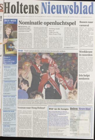 Holtens Nieuwsblad 2008-01-15