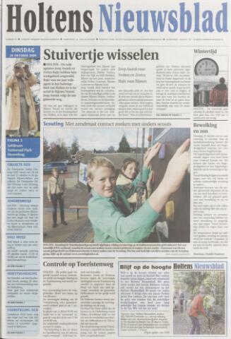 Holtens Nieuwsblad 2009-10-20