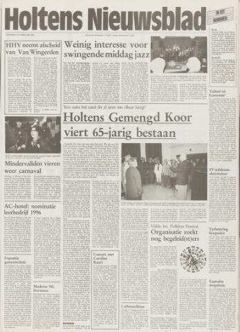 Holtens Nieuwsblad 1996-02-08
