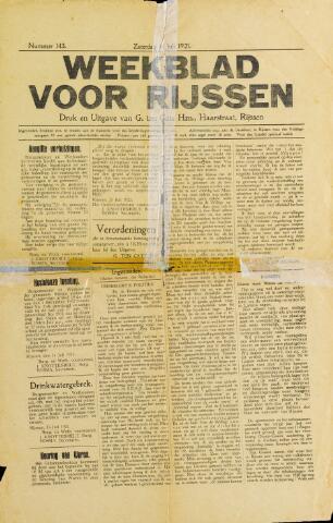 Weekblad voor Rijssen 1921-07-16