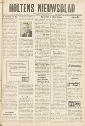 Holtens Nieuwsblad 1963-04-20